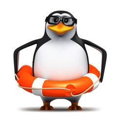 touche par pingouin